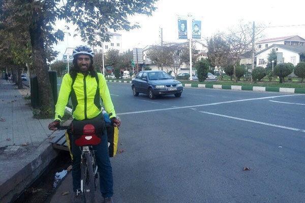 دوچرخه سوار اسپانیایی: رسانه ها تصویری واقعی از ایران ارائه نمی دهند