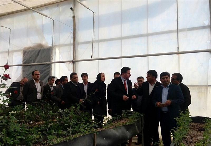 سفیر بلغارستان از واحدهای صنعتی، کشاورزی و گردشگری یاسوج بازدید کرد
