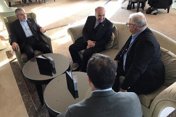 ملاقات وزیر ورزش با رئیس اتحادیه جهانی کشتی در سوئیس