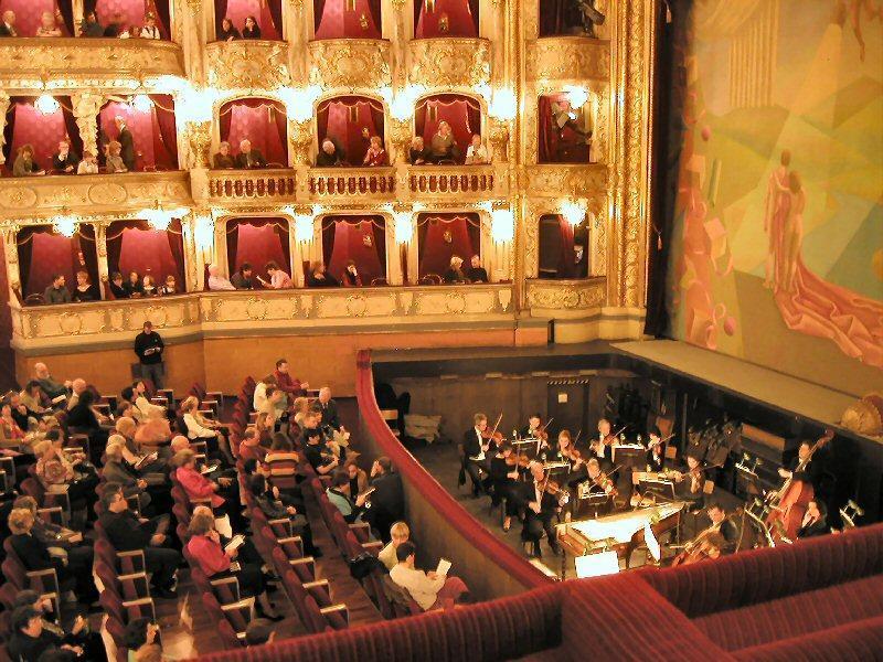 زیباترین تالارهای اپرای جهان
