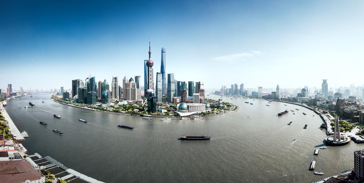 کشور چین، کشور آسمان خراش ها