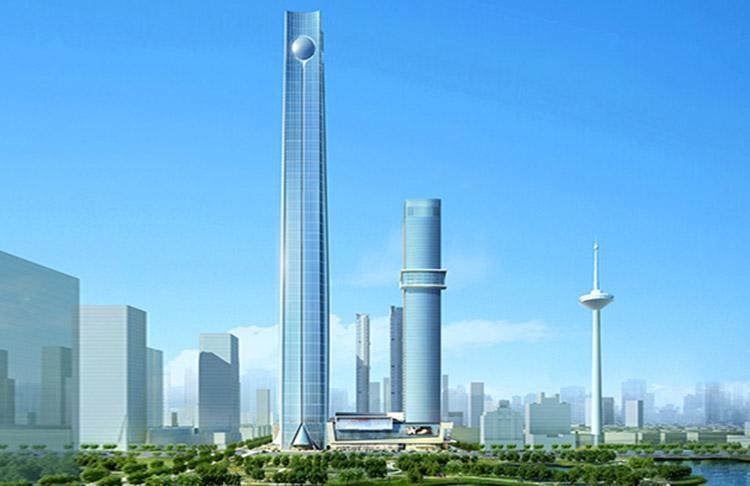 آسمان خراش های کشور چین