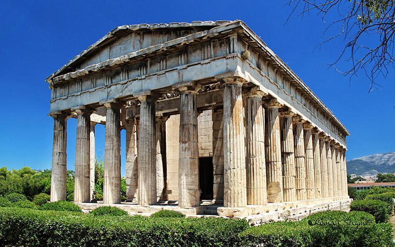 با معبد هفائستوس در یونان آشنا شوید
