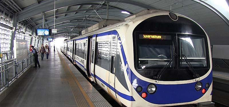 سیستم های حمل و نقل در فرودگاه بانکوک