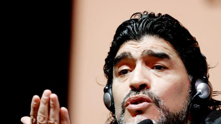 حمایت مارادونا از کمپین قانونی شدن ماریجوانا