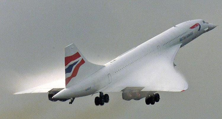 ملکه آسمان ها هم به رکورد کنکورد نرسید ، نیویورک تا لندن کمتر از پنج ساعت
