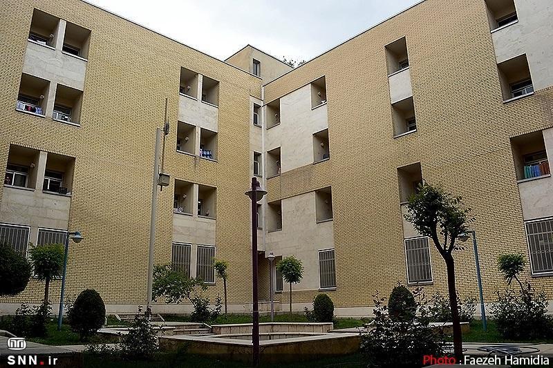 بلوک A خوابگاه مفتح دانشگاه شیراز تابستان آماده بهره برداری است