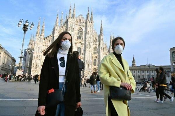 525 نفر دیگر براثر ابتلا به کرونا در ایتالیا جان باختند