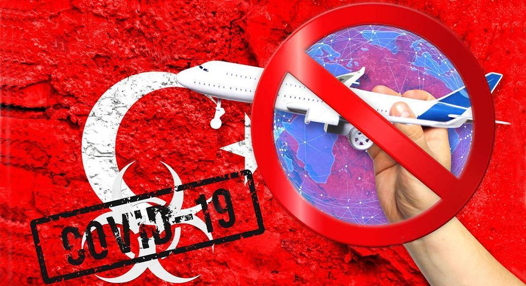ممنوعیت سفر به ترکیه پس از شیوع کرونا