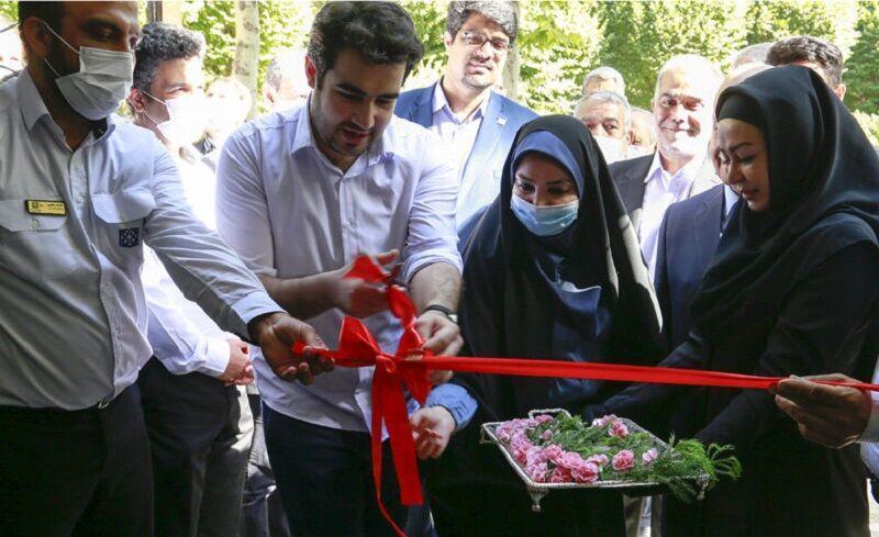 خبرنگاران طرح های عمرانی کوی دانشگاه علوم پزشکی تهران افتتاح شد