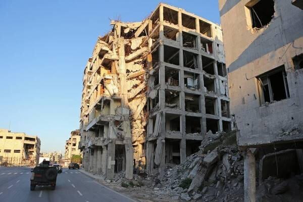 هیأت تحریرالشام شهرک های مسکونی در سوریه را گلوله باران کرد