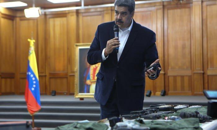 قدردانی رئیس جمهور ونزوئلا به فارسی: ایران! سلام علیکم