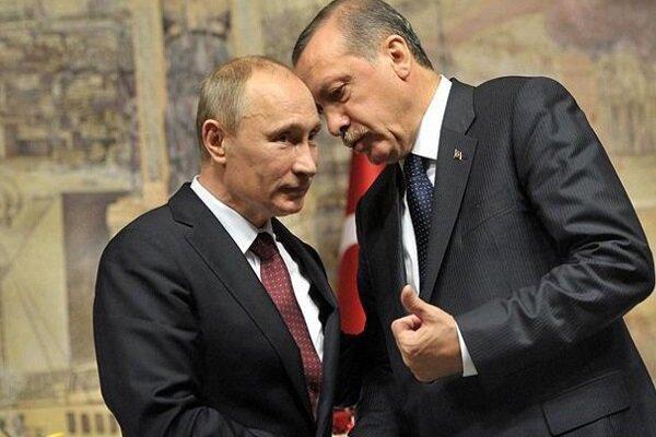 اردوغان و پوتین درباره تنش جمهوری آذربایجان و ارمنستان گفتگوکردند