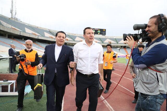 رونمایی از گرانترین قرارداد تاریخ ورزش ایران