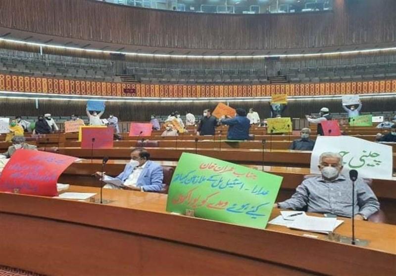 اعتراض احزاب اپوزیسیون پاکستان به بودجه پیشنهادی دولت