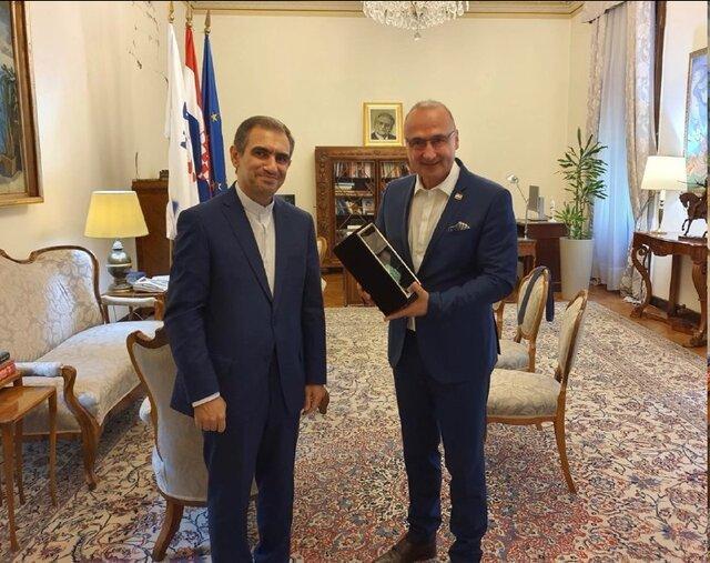 ملاقات سفیر ایران با وزیر امور خارجه و اروپائی کرواسی