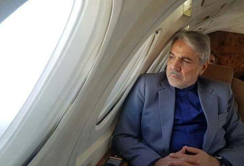 خبرنگاران بازدید هوایی معاون رییس جمهوری از پروژه بزرگراه دشت ارژن - ابوالحیات