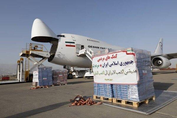 نخستین محموله غذایی و بهداشتی ایران به بیروت رسید