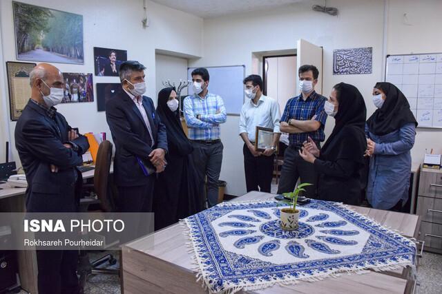 بازدید رئیس دانشگاه فرهنگیان اصفهان از معاونت فرهنگی جهاد دانشگاهی اصفهان