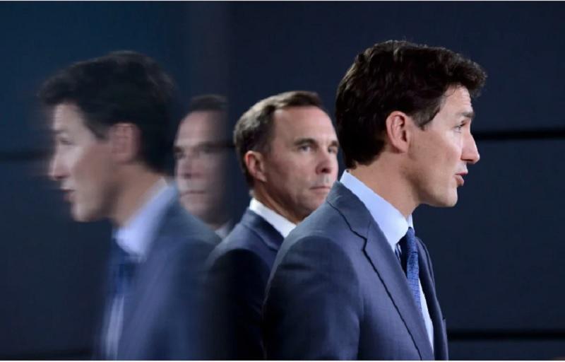 دخالتهای دفتر نخست وزیر ترودو در تصمیمات مورنو ،وزیر دارایی کانادا را تدارکاتچیو ناچار به استعفا کرد!