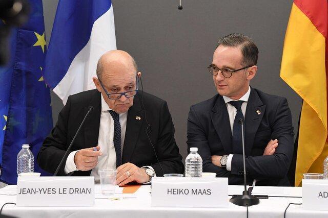 ابراز امیدواری فرانسه و آلمان برای همکاری با بایدن درباره توافق هسته ای