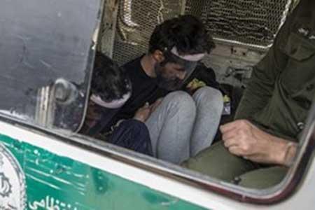 پنچری ترفند سارقان زورگیر اتوبان شهید کاظمی تهران