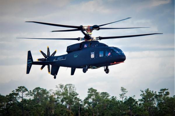 هلیکوپتر رکورد شکن سیکورسکی SB-1