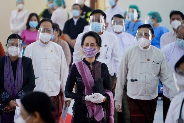 آنگ سان سوچی رهبر غیررسمی میانمار بازداشت شد