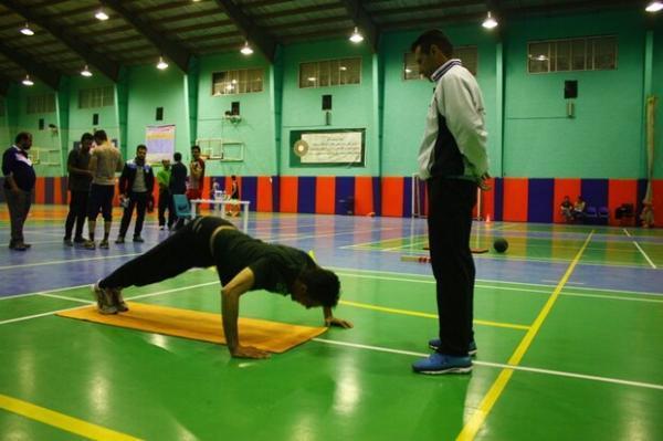 شازند بر سکوی نخست رقابت های آمادگی جسمانی استان مرکزی ایستاد
