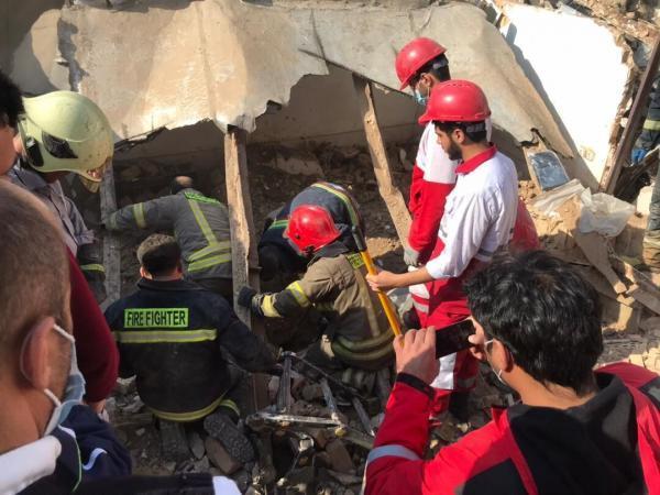 خبرنگاران انفجار در پاکدشت یک کشته برجای گذاشت
