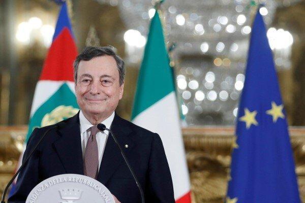رئیس پیشین بانک مرکزی اروپا دولت جدید ایتالیا را تشکیل می دهد