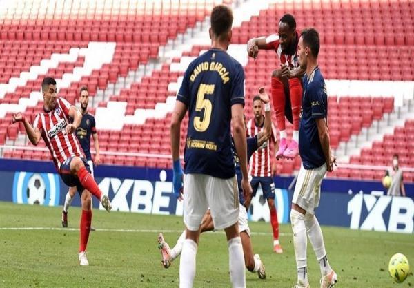 لالیگا، سوارس، اتلتیکومادرید را در آستانه قهرمانی قرار داد، رؤیای بارسلونا بر باد رفت