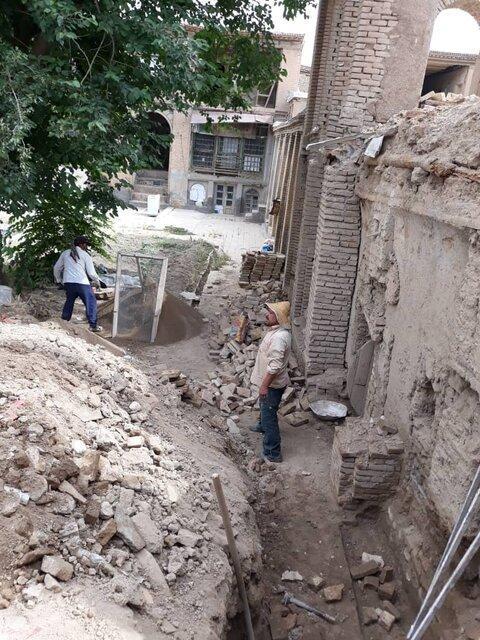 شروع بازسازی خانه تاریخی حاتمی در بروجرد