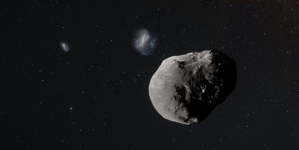 سیارکی به بزرگی برج ایفل سه شنبه از کنار زمین می گذرد