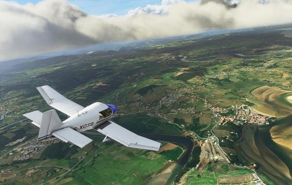 شبیه ساز پرواز مایکروسافت ماه آینده برای ایکس باکس سری عرضه می گردد