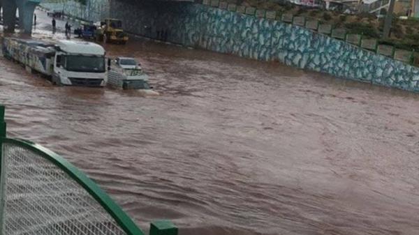 تبریز را آب برد، سیلاب در آذربایجان شرقی بدون خسارت جانی