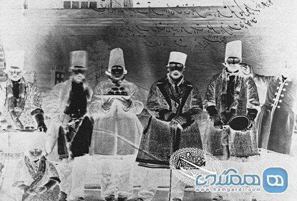 پژوهش در محصولات عکاسی پایه شیشه ای آلبوم خانه کاخ گلستان