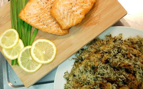 طرز تهیه سبزی پلو با ماهی مخصوص شب عید نوروز